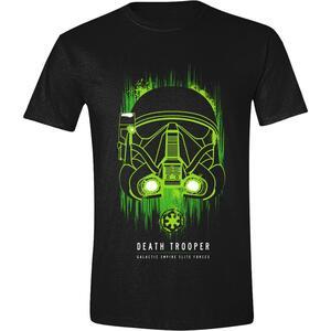 T-Shirt Unisex Star Wars Rogue One. Death Trooper Black