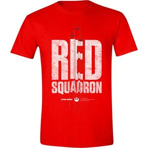 T-Shirt Unisex Star Wars Rogue One. Red Squadron