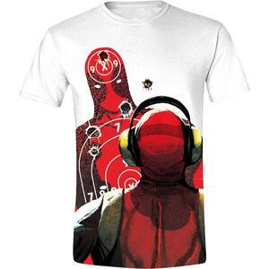 T-Shirt Unisex Deadpool. Shooting Range