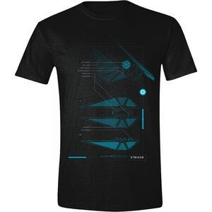 T-Shirt Unisex Star Wars Rogue One. Tie-Fighter