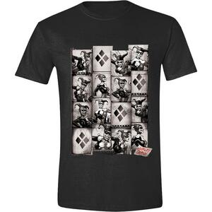T-Shirt Unisex Batman. Harley Quinn Photobooth Anthracite