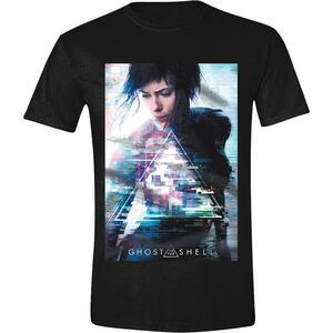 T-Shirt Unisex Ghost In The Shell. Movie Poster Black