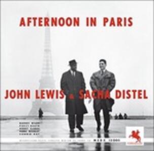 Afternoon in Paris - Vinile LP di Sacha Distel,John Lewis