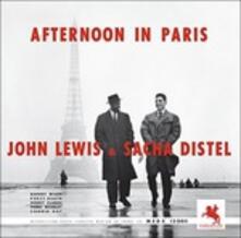 Afternoon in Paris (180 gr.) - Vinile LP di Sacha Distel,John Lewis