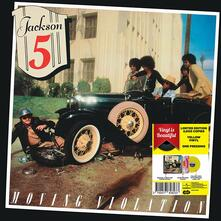 Moving Violation (Yellow Coloured Vinyl) - Vinile LP di Jackson 5