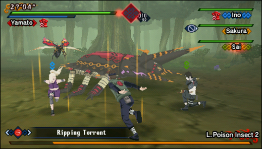 Videogioco Naruto Shippuden Kizuna Drive Sony PSP 5
