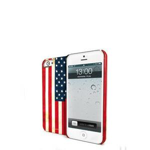Vintage USA Flag cover per iPhone 5