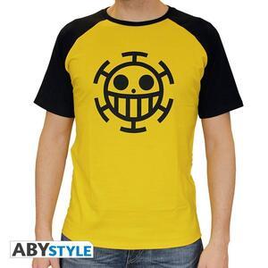 "One Piece. Tshirt ""Trafalgar Law"" Man Ss Yellow. Premium - 2"