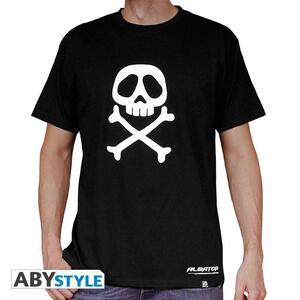"""Albator. Tshirt """"Emblem"""" Man S Black. Basic"""