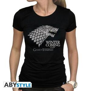 T-Shirt Basic Game of Thrones. Winter Is Coming