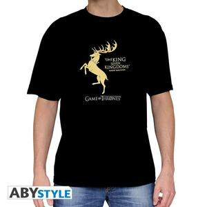 T-Shirt Basic Game of Thrones. Baratheon
