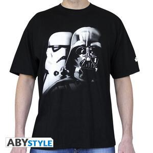 T-Shirt Star Wars Vader & Trooper