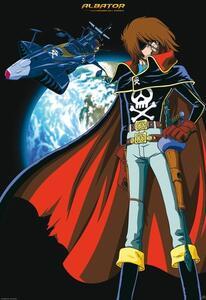 Poster Capitan Harlock. Space Pirate - 2