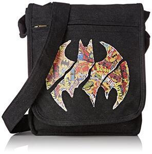 Borsa Messenger DC Comics. Batman Logos. Small Size with Hook