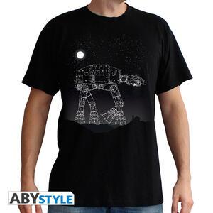 T-Shirt Star Wars AT-AT Stars