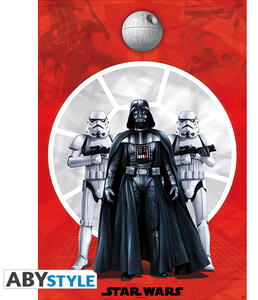 Poster Star Wars. Darth Vader & 2 Troopers