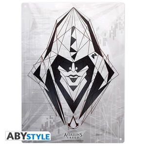 Lastra in Metallo Assassin's Creed. Assassin - 2