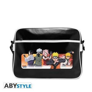 "Naruto Shippuden. Messenger Bag ""Good Guys"". Vinyle"