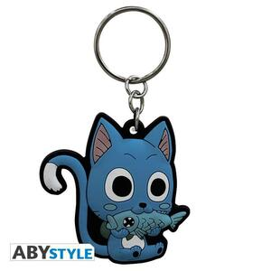 "Fairy Tail. Keychain Pvc ""Happy"" - 2"