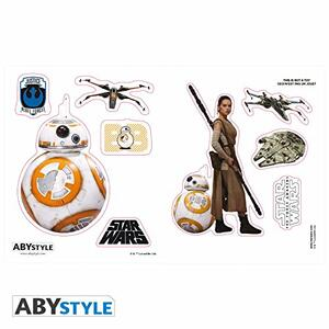 Star Wars-Tazza+Portachiavi+Sticker BB8 - 5