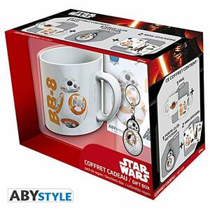 Star Wars-Tazza+Portachiavi+Sticker BB8 - 6