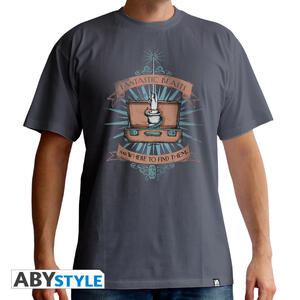 T-Shirt Fantastic Beast. Suitcase S