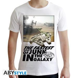 T-Shirt Star Wars. Millennium Falcon M