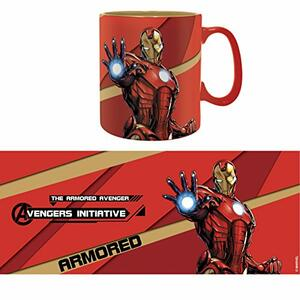 Tazza Marvel Iron Man Armored - 4
