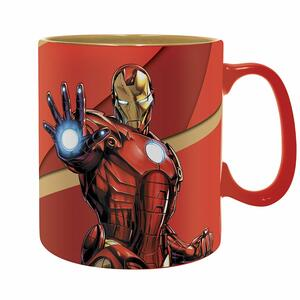 Tazza Marvel Iron Man Armored - 5