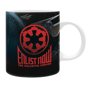 Tazza Star Wars - Enlist Now Empire