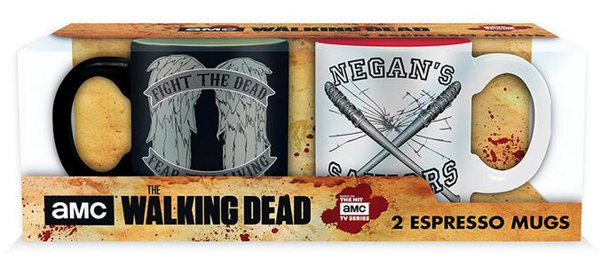 Set 2 Mini Tazze W.Dead Daryl Vs Negan