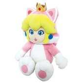 Giocattolo Peluche Peach Gatto Nintendo