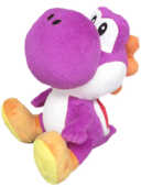 Giocattolo Peluche Purple Yoshi Small Nintendo