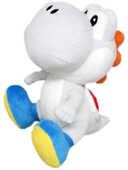 Giocattolo Peluche White Yoshi Small Nintendo