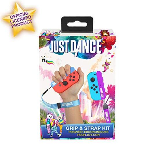 Subsonic Maniglie Ergonomiche con Cinturino, Blu e Viola Nintendo Switch