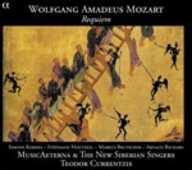 CD Requiem Wolfgang Amadeus Mozart Simone Kermes Teodor Currentzis