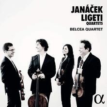 Quartetti per archi - CD Audio di Leos Janacek,György Ligeti