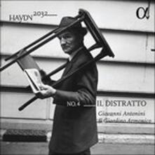 Il Distratto. Haydn 2032 vol.4 - Vinile LP di Franz Joseph Haydn,Giardino Armonico,Giovanni Antonini