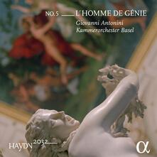 Haydn 2032 vol.5 L'homme de génie - Vinile LP di Franz Joseph Haydn,Giovanni Antonini,Orchestra da camera di Basilea