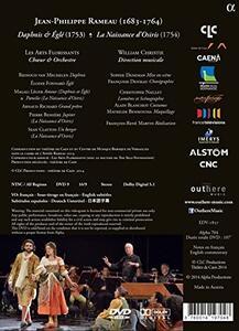 Rameau, Maître à Danser. Daphnis & Eglé, La Naissance d'Osiris - DVD - 2