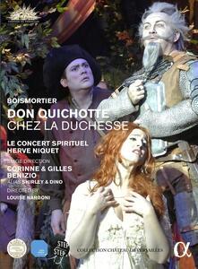 Joseph Bodin de Boismortier. Don Quichotte chez la Duchesse - DVD