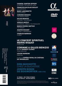 Joseph Bodin de Boismortier. Don Quichotte chez la Duchesse - DVD - 2