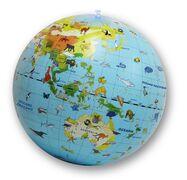 Giocattolo Mappamondo Geografico gonfiabile Caly