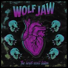 The Hear Won't Listen (Transparent Blue Coloured Vinyl) - Vinile LP di Wolf Jaw