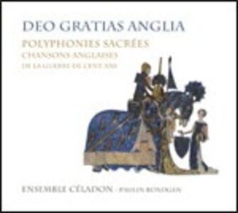 Foto Cover di Deo Gratias Anglia. Polifonie sacre, CD di Ensemble Célandon, prodotto da Aeon