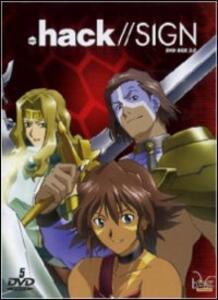Hack//Sign + Hack//Liminality. Box Set 2 (5 DVD) di Koichi Mashimo - DVD