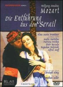 Wolfgang Amadeus Mozart. Il ratto del Serraglio. Die Entführung aus dem Serail - DVD
