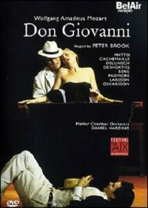 Wolfgang Amadeus Mozart. Don Giovanni di Peter Brook - DVD