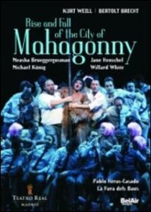 Kurt Weill. Rise and Fall of the City of Mahagonny. Ascesa e caduta della città - DVD