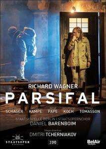 Richard Wagner. Parsifal (2 DVD) di Dmitri Tcherniakov - DVD